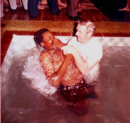 BAPTISM, 1574 L.A. L. A. Hall